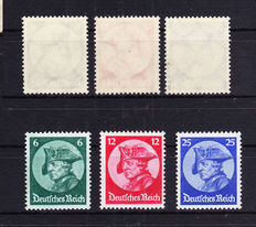 German Empire/Reich - collection - Michel 479/481, 512/528, 702/712