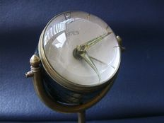 Table clock with convex glass - Emes - late 20th century