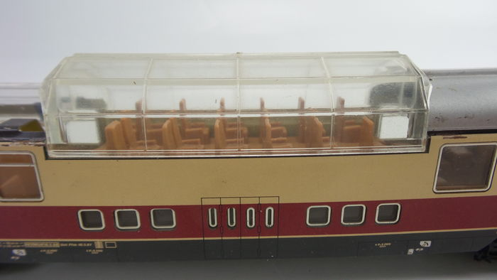 M 228 Rklin H0 3053 4087 4090 3 Piece Passenger Car With