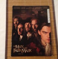 Philadelphia, Soulman and The Man in the Iron Mask with Leonardo DiCaprio - 3x Original English and German press kits