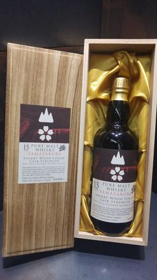 Yamazakura 15 Year Old Sherry Wood Pure Malt Cask Strength Limited Edition in Wooden Box