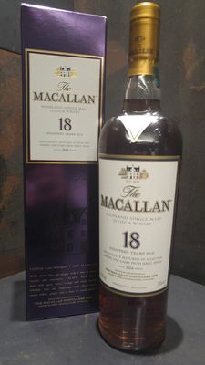 Macallan 18 Year Old sherry wood - 2016 Release