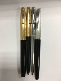 Waterman CF - Sheaffer Imperial Triumph 770(set) - Sheaffer silver tone A4