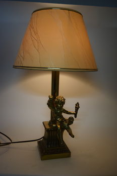 Lamp with baby-second half 20th century