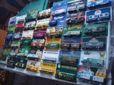 A Variety of Brands - Scale 1/87 - Lot of 75 Models: Brewery Trucks, Advertising Trucks