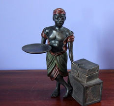 Bronze masterpiece - finely detailed ' colonial style '