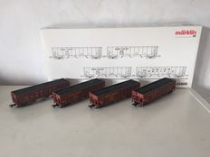Märklin H0 - 45800 - 4-piece USA Union Pacific carriage set