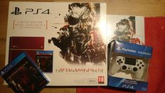 PlayStation 4 console 500GB - Metal Gear Solid V: The Phantom Pain limited edition + LE Hardcover Guide + MGS V game in seal + Dual Shock 4