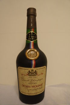 Denis-Mounie Grande Champagne Hors d'Age Extra Cognac, Bottled 1970s