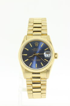 Rolex Oyster Perpetual Datejust 66278 - mid-size unisex watch - 1989