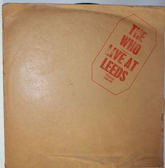 "The Who  ""Live at Leeds"" one of the best live recorded albums ever. Lot of 2 albums   The Who"