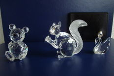 Swarovski - Anniversary Squirrel - Bear small - Swan - Photo holder