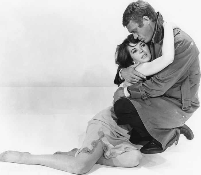 William Claxton (1927-2008) - Steve McQueen and Natalie Wood - 1963