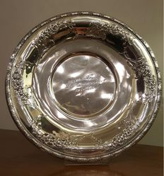 Silver Plate marked Tiffany, 1960s
