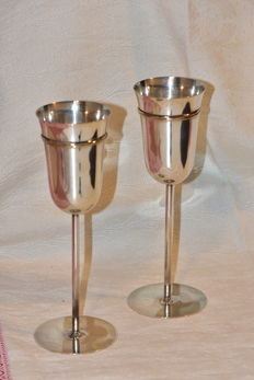 Cartier – Pair of silver glasses