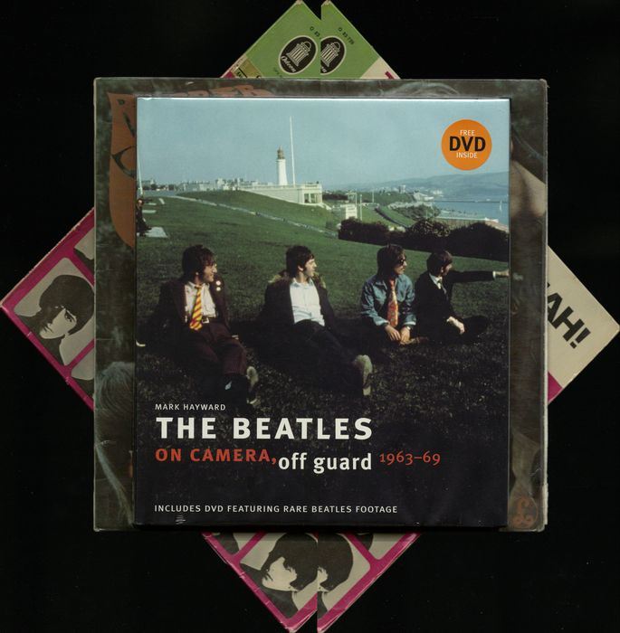 Book Quot The Beatles On Camera Quot Two Rare Albums Including
