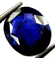 Blue Sapphire - 4.10 ct - Low Reserve