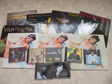 Roxy Music, Bran Ferry - lot of eight (8) LP's and seven (7) CD's