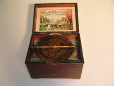 A 19.5 cm (7 11/16 in) Symphonion disc music box - Germany - ca 1900