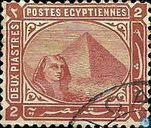 Pyramid and sphinx of Giza