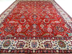 """Tabriz – 338 x 242 cm – """"Eye-catcher – XL Persian carpet, richly decorated and in great condition"""""""