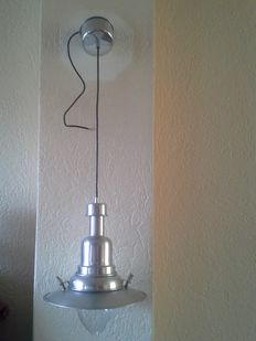 Beautiful chrome-plated /stainless steel fishing, cabin lamp.