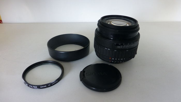 Sigma 24-70 AF lens for Nikon FX and DX - Catawiki