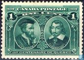 Jacques Cartier and Samuel de Champlain