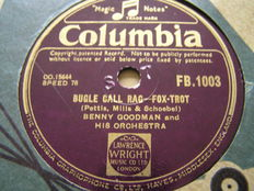 Super JAZZ, SWING and BLUES on 25 x 78 rpm records with Count Basie, Earl Hines, Louis Armstrong, etc.