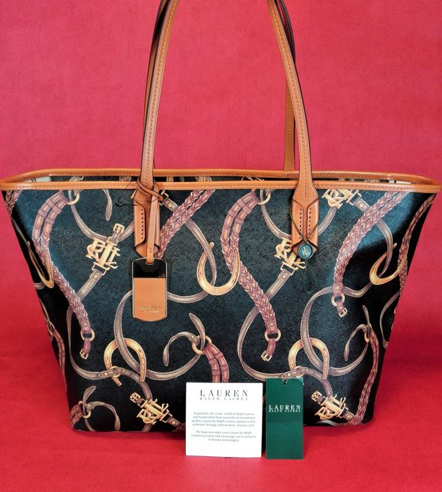 1388fed709 Ralph Lauren - Caldwell Belting   Tote shopper bag - Catawiki