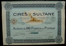 France - Cires Sultane 100 Francs, Saint Denis 1906