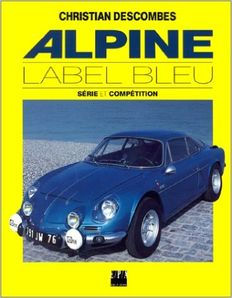 Lot - 4 Renault Alpine books