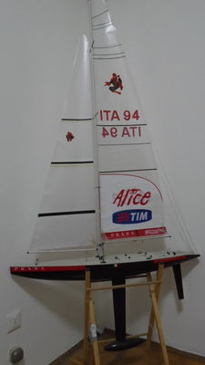 DeAgostini - 1/6 scale - sailing copy of Lunarossa - 2007