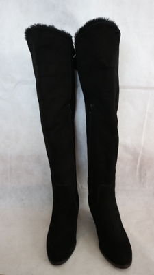 Luca Grossi - knee-high padded boots with high-heels, hand-made, Made in Italy