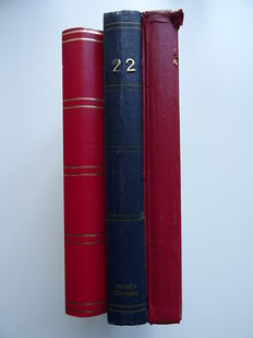 Russia - Soviet Union - batch in three stock books.