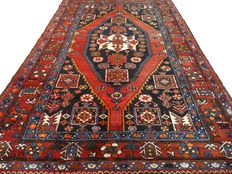 """Hamadan - 209 x 138 cm - """"Authentic Persian carpet in beautiful condition"""" - Note! No reserve price: starts at €1.-"""