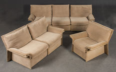 Walter Knoll – vintage, modular sofa set, 6 elements.