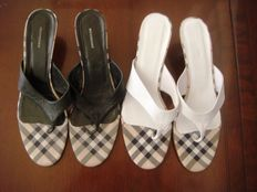 Burberry shoes 2 pairs