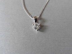Platinum Diamond Pendant - 0.33ct  I, SI1