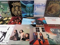 Lot of fourteen great rock and hard rock albums