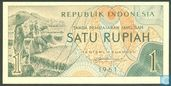 Indonesië 1 Rupiah 1961 (Replacement)