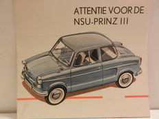 NSU brochures from early 1960s - 12 pieces