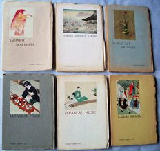 "Japanese culture, six books from the ""Tourist Library"" series, 1935-1938"