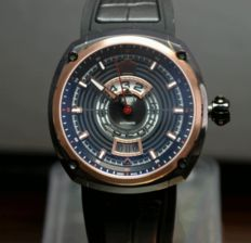 """Savoy EPIC """"Springende Stunde"""" - Automatic - Swiss Made - 2016 - never worn"""