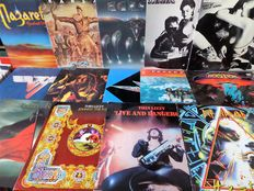 Lot of fourteen great hard rock albums
