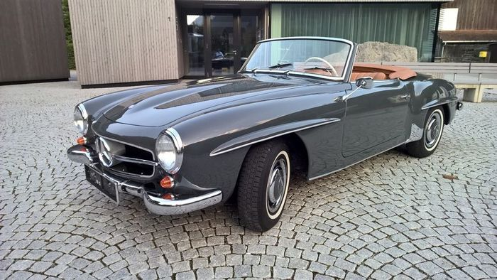 Mercedes Benz 190 Sl W121 1961 Catawiki