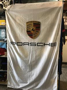 Porsche Banner / Flag official dealer Porsche Center - 2.40 x 1.50 metres