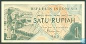 Indonesië 1 Rupiah 1960 (Replacement)
