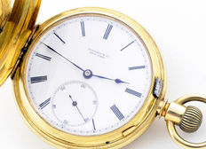 Tiffany (New York). Pocket watch. High standard collection. Circa 1845-1850.