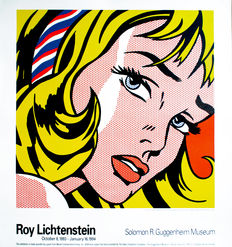 Roy Lichtenstein - The Girl With Hair Ribbon